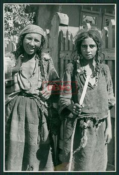 Romani gypsies Ukraine WWII The one on the right