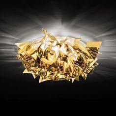 Veli Gold/Silver/Copper Lamp by Slamp