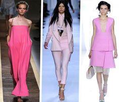 Color rosa en Primavera-Verano 2012