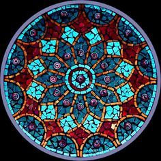 mosaic mandalas - Google Search