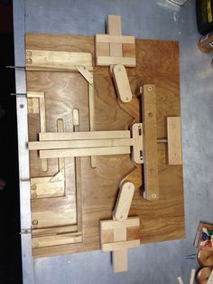 Wooden Puzzle Lock For Secret Door Chainsaw Pinterest
