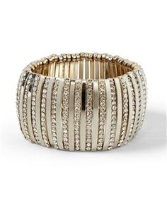 crystal-stripe bracelet