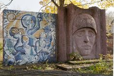 Crumbling Communist Murals the Soviets Left Behind