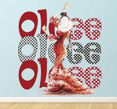 Naklejka dekoracyjna Ole Ole Ole