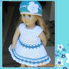 PATTERN – Crocheted Cute Doll Dress — Doll Dress 2 « Lilyknitting – Patterns and Crochet