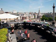 London's Best Rooftop Bars: Vista at the Trafalgar, Trafalgar Square, #Bars #Restaurants