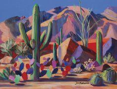 Arts And Crafts Kindergarten Cactus Paintings, Beautiful Photography, Southwest Art, Western Art, Painting, Desert Art, Visual Art, Art, Arts And Crafts