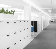 The Wall storage   Office Furniture   Martela