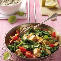 Kip met spinazie | Gezonde Recepten | Weight Watchers