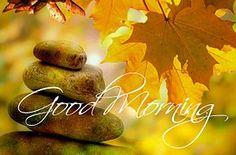 Good Morning, Autumn, Tree, Trees