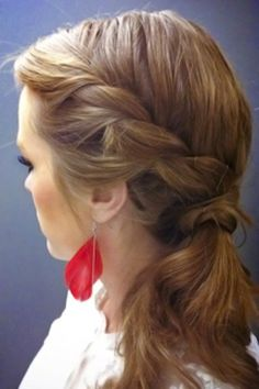 hair styles 25 Totally Pretty 10-Minute Hairstyles