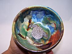 Oceans Ikebana, Small Bowl Flower Stand.  via Etsy.