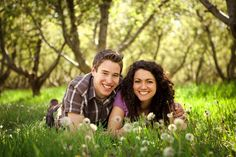 Spring Engagement Photography  Kelia Joy Photography