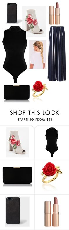 """""""."""" by laura-lorena-forever ❤ liked on Polyvore featuring Wild Diva, L.K.Bennett, Disney Couture and Charlotte Tilbury"""