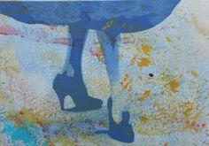 Peinture Et Impression Bas de Jupe et Escarpins I.4 de la boutique AdeleFontran sur Etsy