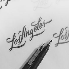 Brush Lettering Collection No. 4 on Behance