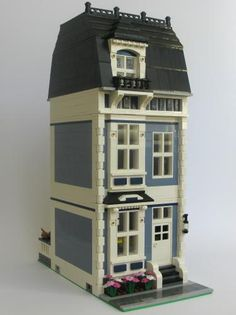 Townhouse No.2 (Sand Blue)