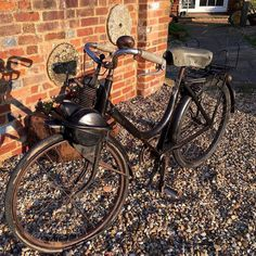 War & Peace Revival 19th - 23rd July 2016. Motorcycle or bicycle and what year? Do you know ? This will be on display this year at War & Peace buy your tickets online now http://ift.tt/1KwB1Ie #bicycle #motorcycle #ww1 #ww2 #military #vintage #history #battleofbritain #warandpeace #reenactor #soldier #livinghistory #homefront