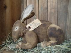Prim bunny pattern - Easter