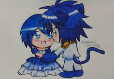 ''If you be my prince, I'll be your Cinderella'' A new draw of Yoru And Miki I hope you like it