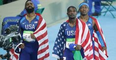 #SadNews Team USA men's 4x100m disqualified for lane infraction, forfeits Bronze medal .. http://www.sbnation.com/2016/8/19/12564266/rio-2016-team-usa-mens-4x100-disqualified-again-justin-gatlin?utm_campaign=sbnation&utm_content=article%3Atop&utm_medium=social&utm_source=twitter …
