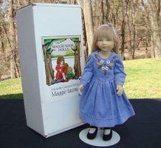 1999 Maggie Iacono Alyssa Felt Doll LE 25/60 Mint in Box 17 inches #MaggieIacono