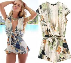 307b9da1336 Top And Shorts 2015 Sexy Rompers For Women New Summer Fashion Printed Pants  Jumpsuit Monos Largos De Mujer Combinaison Women