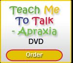 Teach Me to Talk: Apraxia - DVD-Are you a parent looking for more information on childhood apraxia of speech? Pinned by SOS Inc. Resources @sostherapy http://pinterest.com/sostherapy.