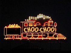 Chattanooga Choo Choo sign