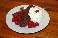 God mad og søde sager: Chokoladekage - uden mel, mælk og sukker