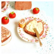 muddling through : mini food from polymer clay : bread & butter
