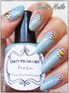 Betty Nails: Crazy Polish Lady - First Snow First Snow, Mothers, Indie, Nail Polish, Gift Ideas, My Favorite Things, My Love, Tattoos, Nails