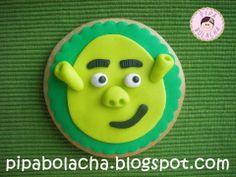 Shrek cookie