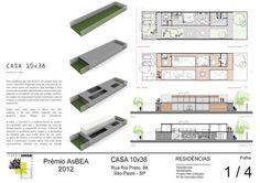 Casa 10x38,Prancha 01