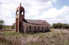 told us that this church, over 100 years old, is located in south Texas.
