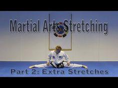 Flexibility for Martial Arts Tutorial Part 2 (Get High Kicks/Splits) - YouTube