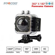 SOOCOO C-UBE360S WiFi 1.5inch 30M Waterproof Mini Sports Action Camera 360 Wide-Angle Cameras Wide-Angle 360*180 HD Video Camera  Price: 71.28 & FREE Shipping #computers #shopping #electronics #home #garden #LED #mobiles #rc #security #toys #bargain #coolstuff |#headphones #bluetooth #gifts #xmas #happybirthday #fun