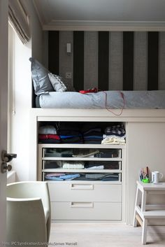 Studio Bed And Storage. | Lit | Lit By Rendsmoi Magomme | Pinterest |  Compact Living, Compact And Storage