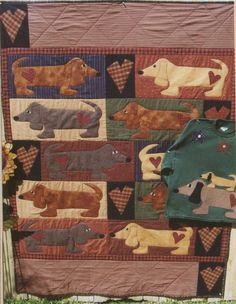 animal quilt patterns free | Whimsical Quilt Patterns, Dog & Frog Quilt Patterns, BOM, Turtle