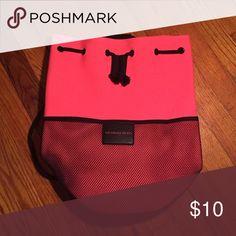 Victoria's Secret Pink Drawstring Pool Bag Beautiful Pink Pool Bag. Never used. PINK Victoria's Secret Bags Backpacks