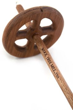 Over the years the Wool Tree Mill has perfected their formula for making expertly balanced and gorgeous hardwood drop spindles, and their result is the Greek Cross drop spindle. These large spindles w