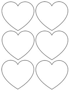 5 free heart shaped printable templates for your craft projects felt heart valentine holders sunday february 2012 by jamie 11 comments felt heart valentine holders pronofoot35fo Images