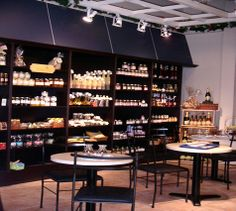 #feel colour lighting : french bistro design | Design Cafe | Cafe Designs
