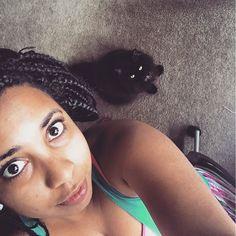My cat-assistant Lea  #socialmedia #work #boss #womenwhowork #catsofinstagram