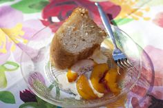 Amaretto Savarin with Nectarines. http://cindyduffield-cookingthebooks.co.uk/amaretto-savarin-nectarines/