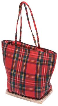 Plaid - Red Tartan Tote Bag- have it!