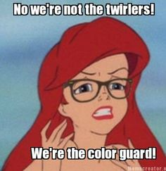 15 Signs You Are In The Colorguard | The Odyssey