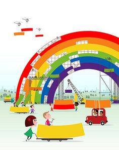 rainbow inspiration | Daily Design Inspiration #29: Rainbows