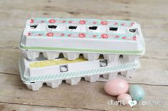 Easter Crafts For Party: DIY Decorative Easter Egg Cartons