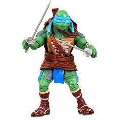 Teenage Mutant Ninja Turtles Movie Leonardo Basic Figure - http://toyfiguresinaction.com/product/teenage-mutant-ninja-turtles-movie-leonardo-basic-figure/
